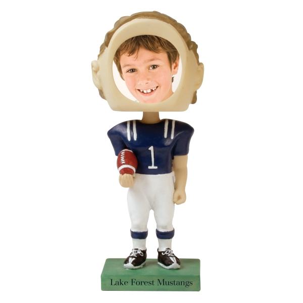 Single Bobble Head (football) Photo