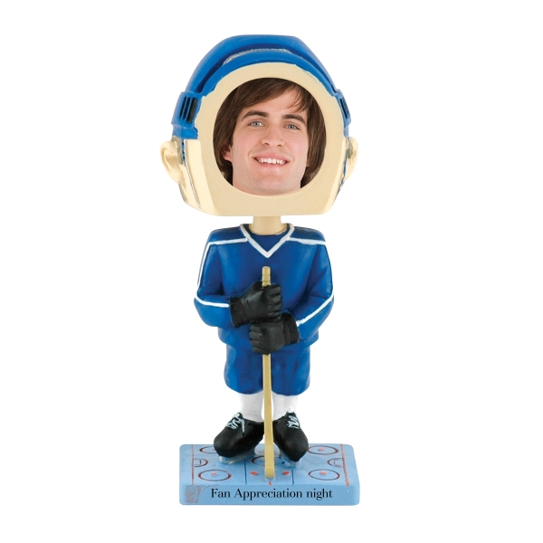 Single Bobble Head (hockey) Photo