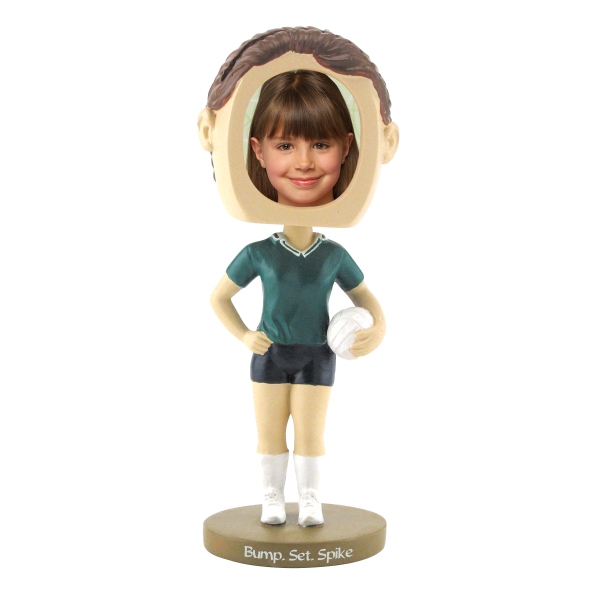 Single Bobble Head (girl's Volleyball) Photo