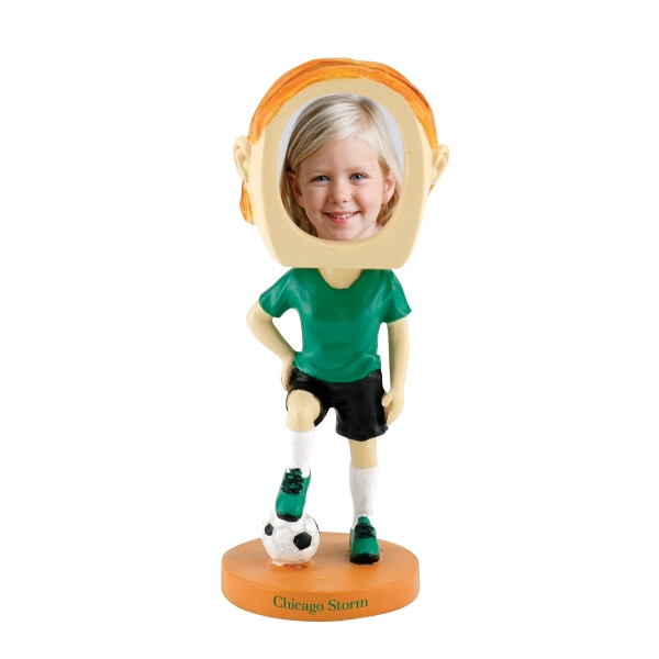 Single Bobble Head (soccer Girl) Photo