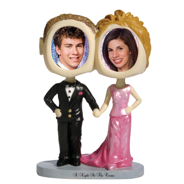 Couple Bobble Head (prom Couple) Photo
