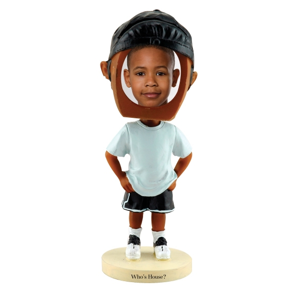 Dark Skin Tone Single Bobble Head (hip Hop Boy) Photo