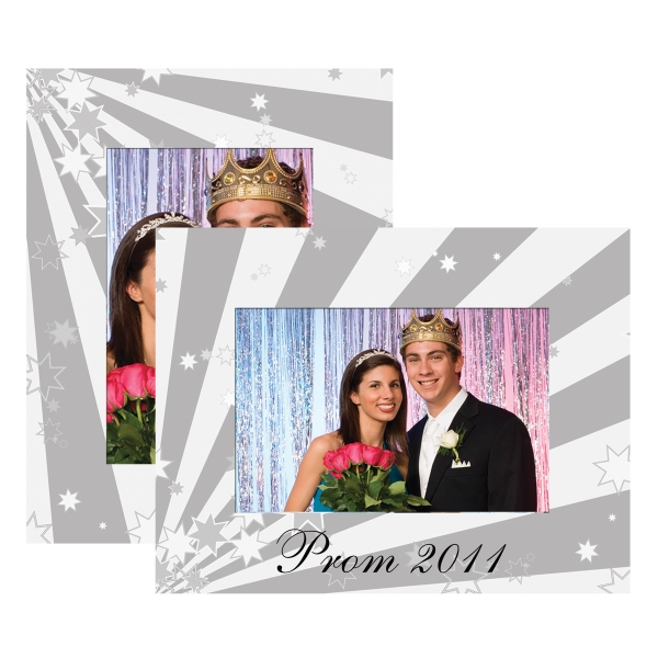 "Paper Easel Frame, Holds Either A 4"" X 6"" Or 5"" X 7"" Photo (prom Paper) Photo"