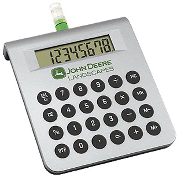 Water powered desktop calculator