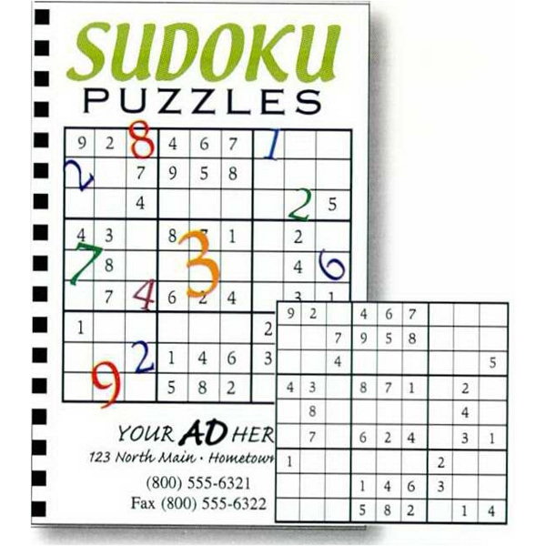 Sudoku Puzzle Book With 50 Puzzles Photo