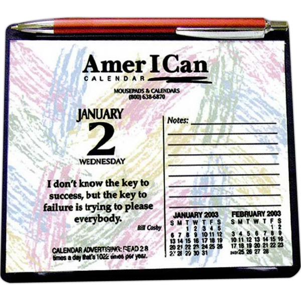 Daily Inspiration Easel Desk Calendar With 313 Inspirational/motivational Quotes Photo