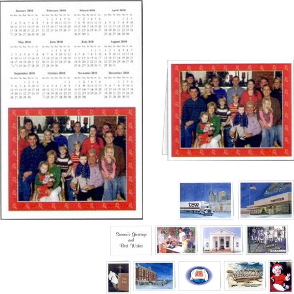 Custom Note Card With Calendar Included, Comes With Envelopes Photo