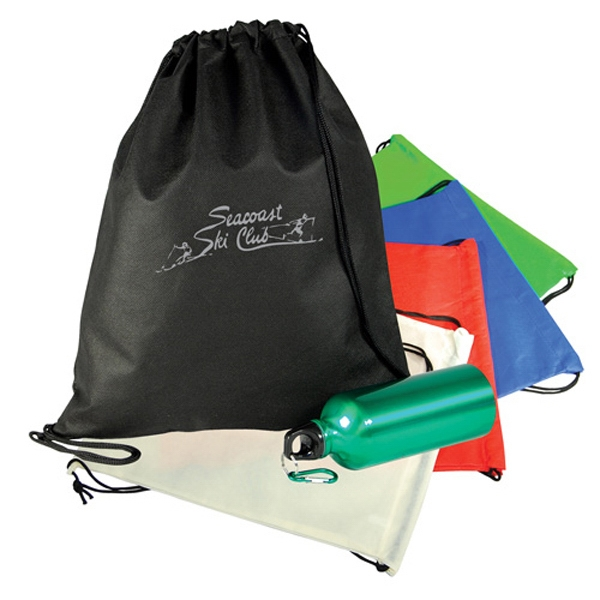 Non Woven Drawstring Shoulder Pack Photo