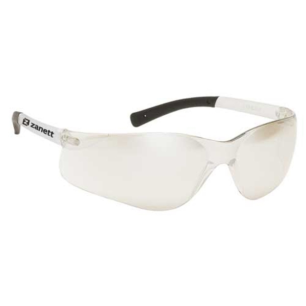 Indoor/outdoor Lens With Clear Frame. Lightweight Wrap Around Safety Glasses Photo