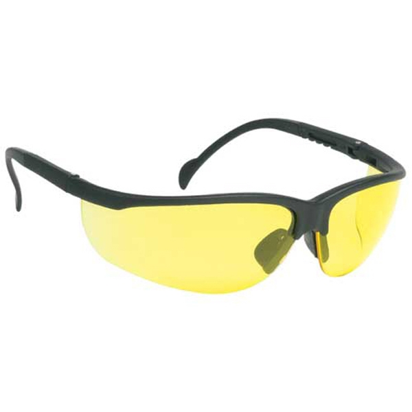 Amber Lens - Wrap-around Safety Glasses Photo