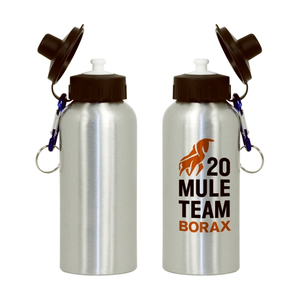 500ml Aluminum Sport Bottle - Silver Photo