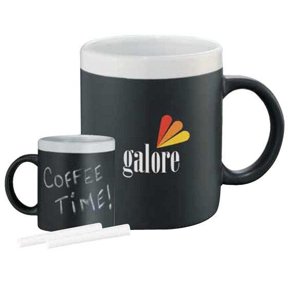 Chalk It Up - Ceramic 11 Oz. Mug With. Includes 2 Pieces Of Chalk Photo