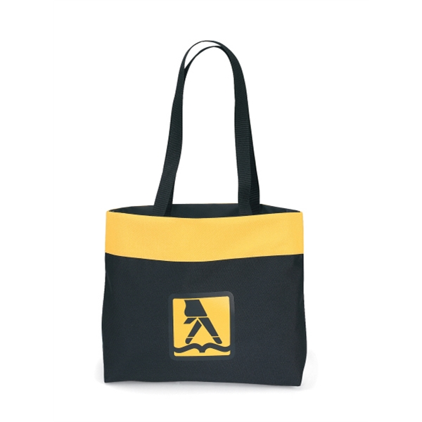 "Yellow - Tote Bag With 28"" Shoulder Straps Photo"