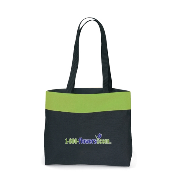"Apple Green - Tote Bag With 28"" Shoulder Straps Photo"