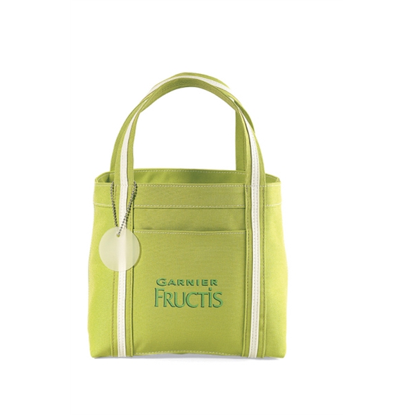 Piccolo - Green - Mini Tote Bag With Front Pocket Photo