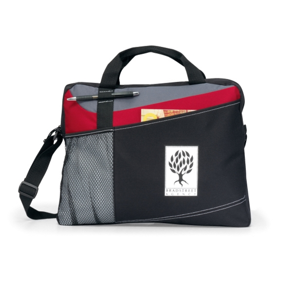 Velocity - Red - Portfolio With Adjustable Shoulder Strap And Top Grab Handles Photo