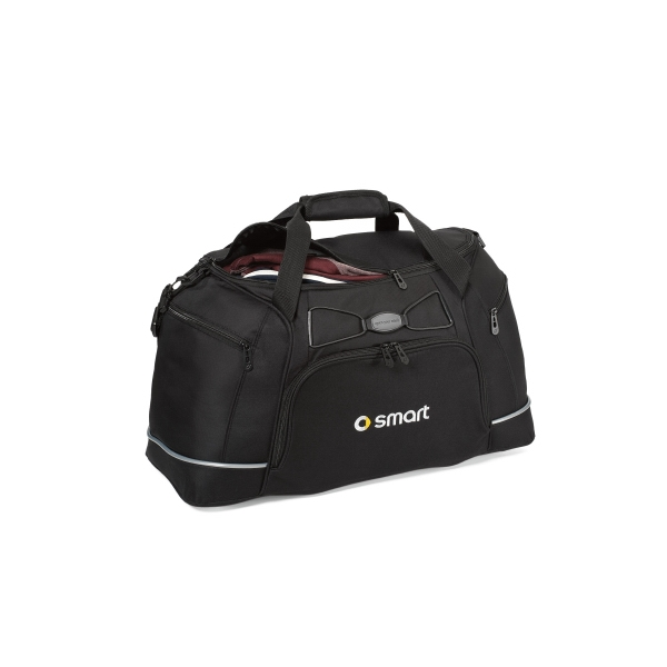 Contour - Black - Duffel Bag With Padded, Removable And Adjustable Shoulder Strap Photo