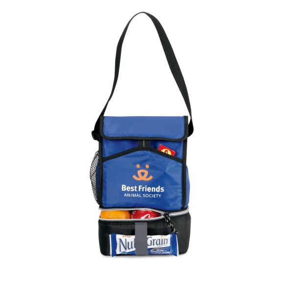 Laguna - Royal Blue - Lunch Cooler With Adjustable Shoulder Strap And 6 Can Capacity Photo