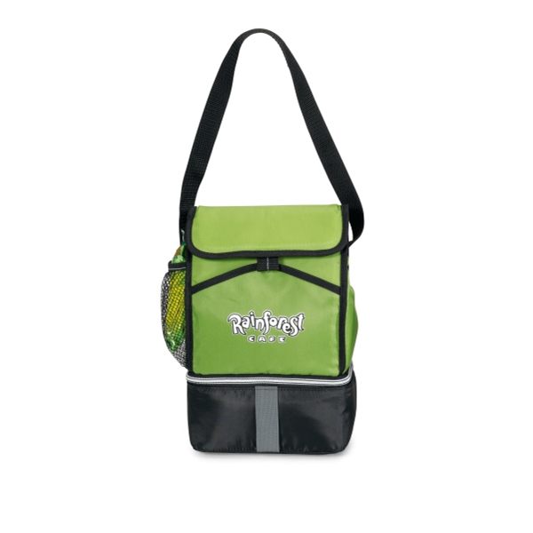 Laguna - Apple Green - Lunch Cooler With Adjustable Shoulder Strap And 6 Can Capacity Photo