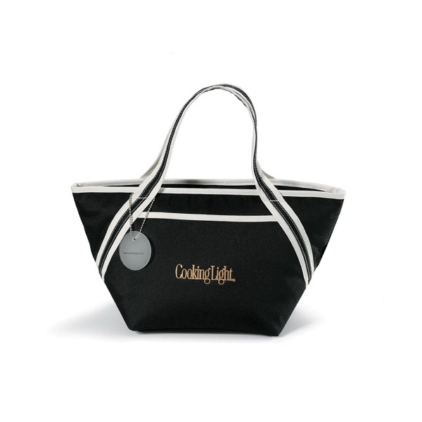 Piccolo - Black - Cooler Tote Bag With Heat Sealed Interior Photo