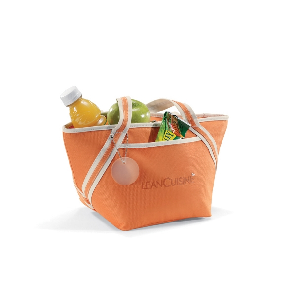 Piccolo - Apricot Orange - Cooler Tote Bag With Heat Sealed Interior Photo