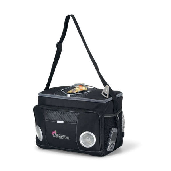 Encore - Black - Music Cooler With Metal Bottle Opener Photo