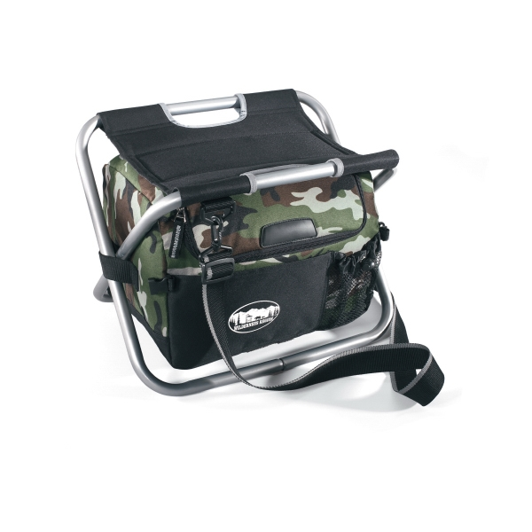Spectator - Camouflage - Spectator Cooler Chair With Durable Metal Frame With Padded Seat Photo