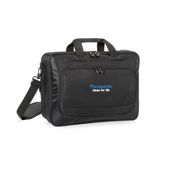 Life In Motion (tm) - Computer Portfolio With Removable Shoulder Strap Photo