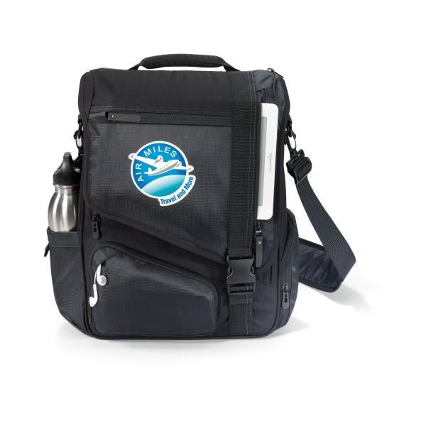 Life In Motion (tm) Momentum - Computer Messenger Bag With Zippered Compartment With Viewpoint System (r) Photo