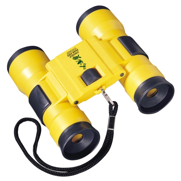 Yellow 4 X 30 Power Sports Binocular With Charcoal Gray Trim Photo