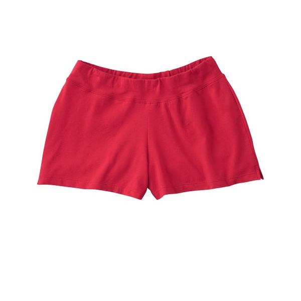Bella + Canvas Ladies' Cotton/Spandex Fitness Shorts