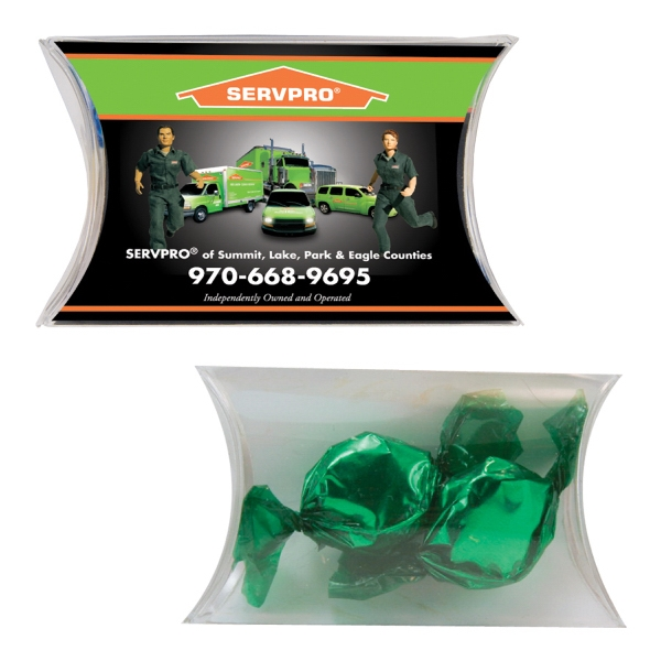 Candy King - Small Pillow Pack With Foil Candy. Hard Foil Candy Treat In A Candy Pack Photo