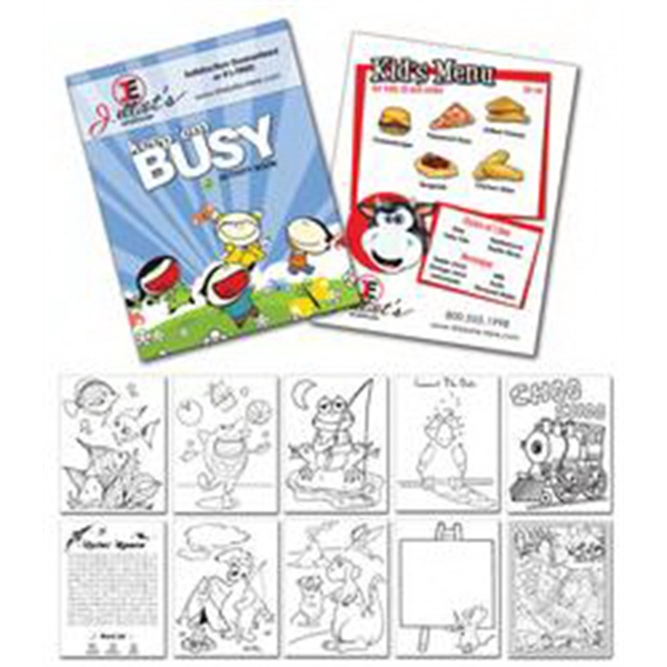 "Activity Coloring Book - 8.5"" X 11"" - (12-page General Use) Photo"