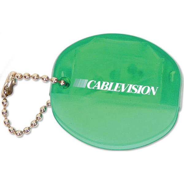 Green - Cd Opener Keychain. Closeout Price! Available While Supplies Last Photo