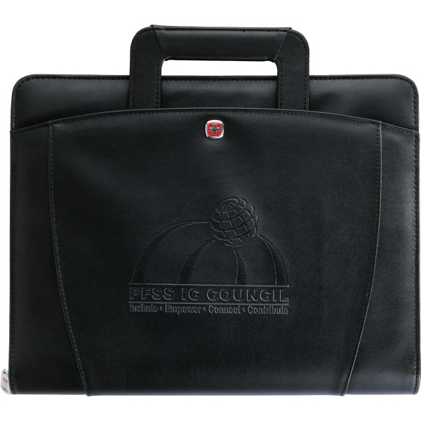Wenger (r) Expedition (r) - Presentation Portfolio Bundle Set. Has Removable Three-ring Binder Photo