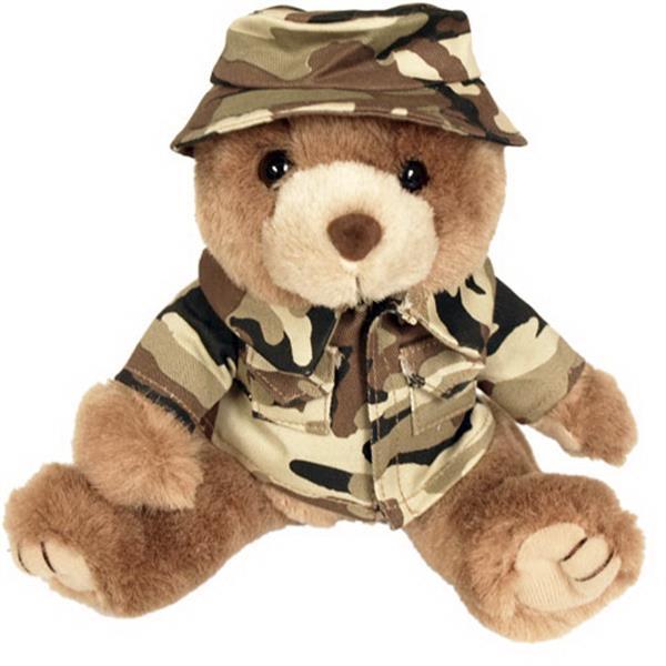 "8"" Marine Bear - Desert Camo Boonie Hat"