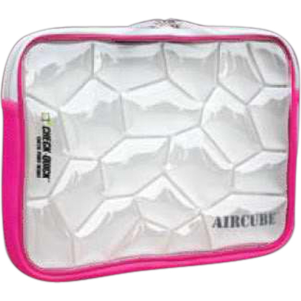 "Aircube (tm) - Notebook Sleeve. Exterior: 11"" X .25"" X 1.95"" Photo"