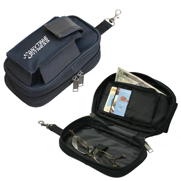 Golf Away - Accessory Bag With Large Compartment For Your Watch Or Sunglasses Photo