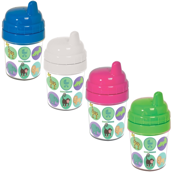 5 Oz. Non Spill Baby Cup With Removable Liner For Hand Washing Photo