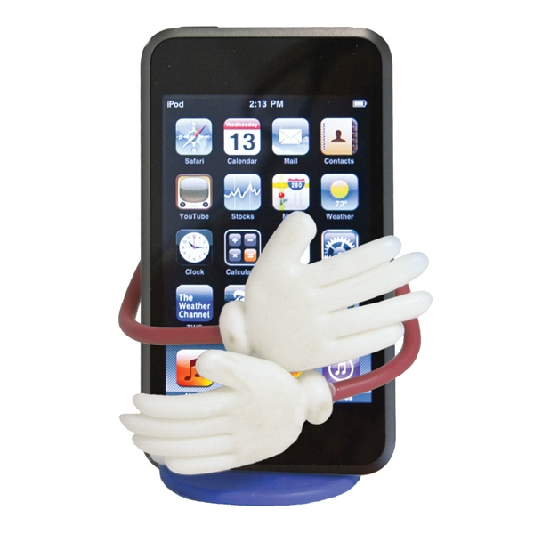 Buddy Buddy - Cell Phone Holder With A Colorful Human-like Design Photo