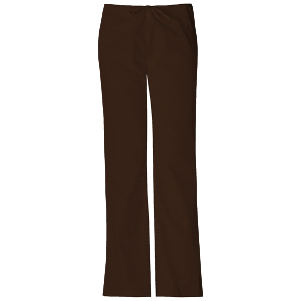 Dickies Medical - Chocolate - Sa851206 Dickies Flare Leg Pant Photo