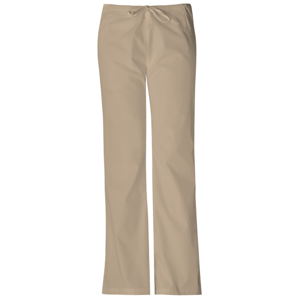 Dickies Medical - Khaki - Sa851206 Dickies Flare Leg Pant Photo