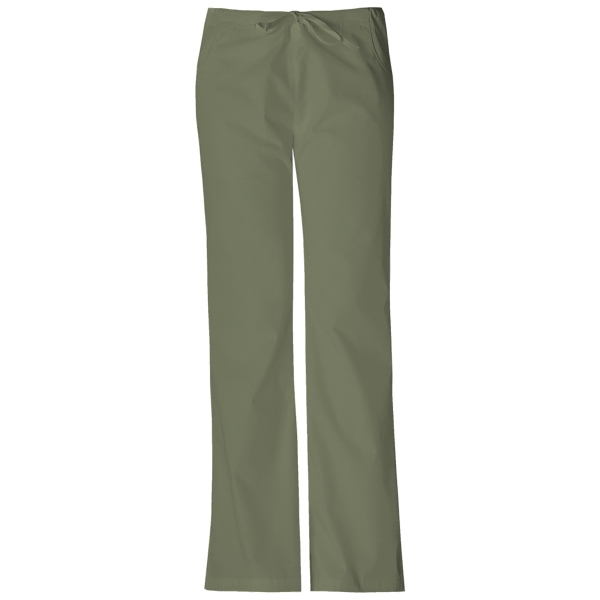 Dickies Medical - Olive - Sa851206 Dickies Flare Leg Pant Photo
