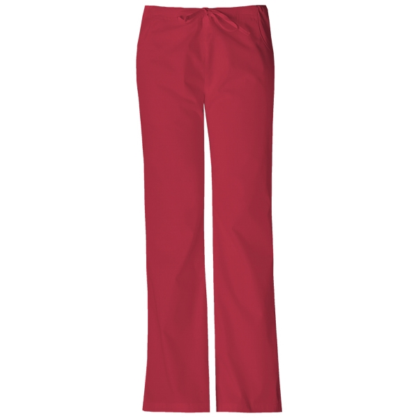 Dickies Medical - True Red - Sa851206 Dickies Flare Leg Pant Photo