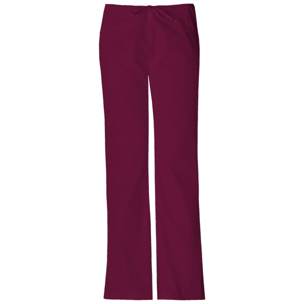 Dickies Medical - Wine - Sa851206 Dickies Flare Leg Pant Photo