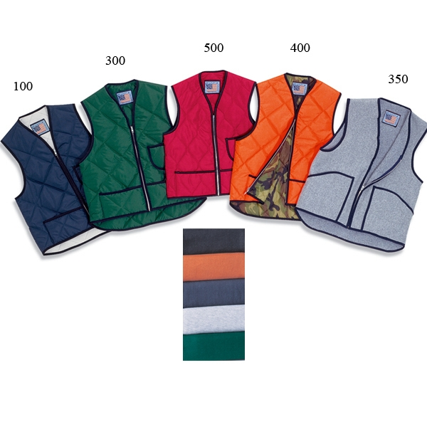 Quilted Nylon Vest without Kidney Flap