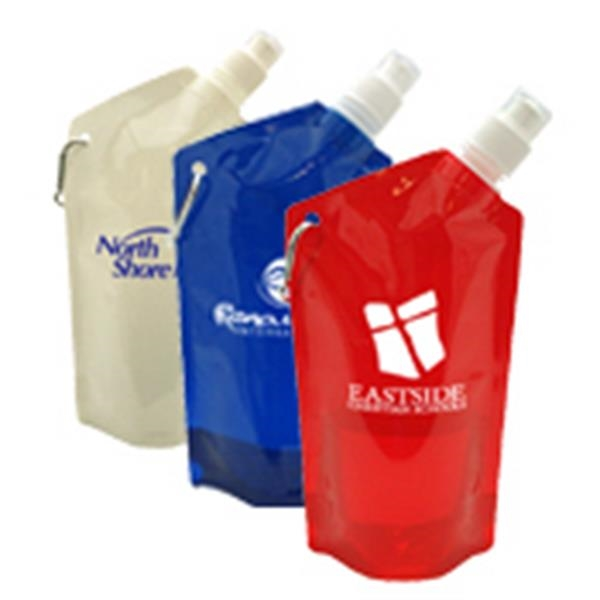 27 Oz. Collapsible Reusable Water Bottle Photo