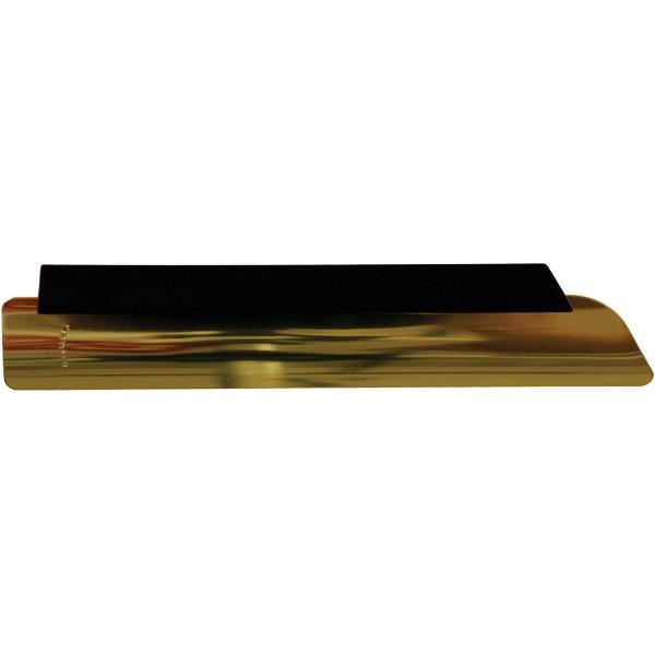 Waiter's Crumb Scraper, Gold Anodized Blade