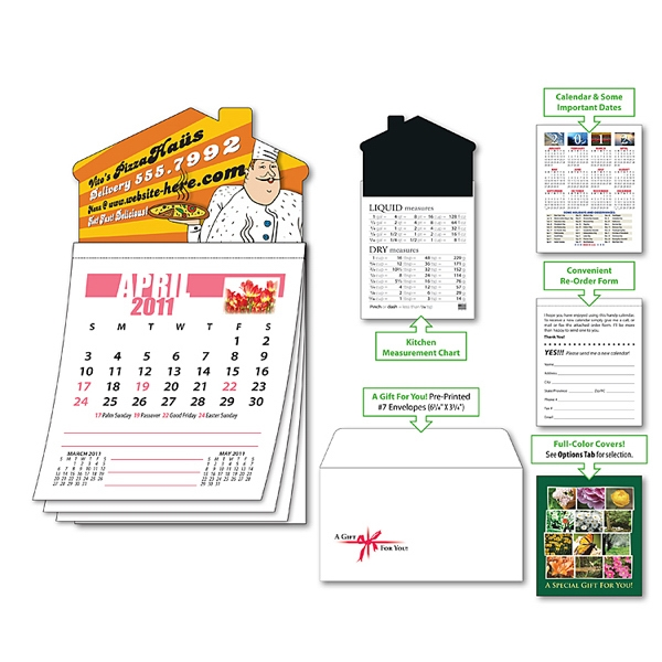 Magna-cal (tm) - Magnet - House Standard Calendar-apr. 2013. Available To Ship: 2/15/12 Thru 5/14/13 Photo
