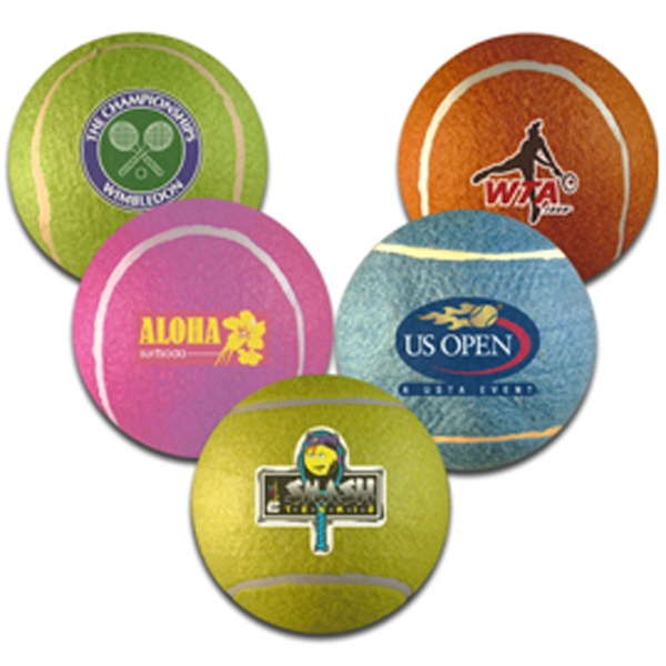 5in Assorted Colored Tennis Balls Photo